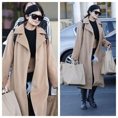 Kylie-Jenner-Grocery-Shopping-in-Calabasas-wearing-Celine-ZZ-Top-Sunglasses-MaxMara-Coat-Ann-Demeulemeester-Boots