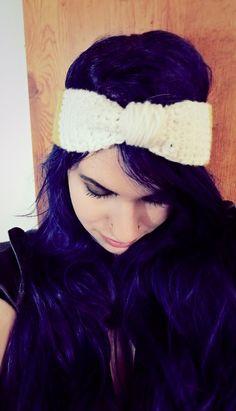DIY crochet headband instruction