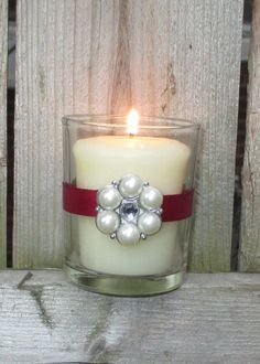 Cranberry Wedding / Wedding Votive Candle by CarolesWeddingWhimsy, $24.99, set of 6, Cranberry Winter Wedding Votive Candle Holder with Pearl and Rhinestone Charm -You can find it here https://www.etsy.com/listing/203952012/cranberry-wedding-wedding-votive-candle   https://www.etsy.com/shop/CarolesWeddingWhimsy  https://www.facebook.com/CarolesWeddingWhimsy