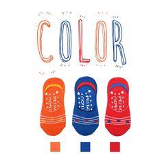 Peilou 貝柔- 台灣織造‧幸福棉品-產品 ([6雙] 貝柔兒童萊卡雙止滑隱形襪套-星星)