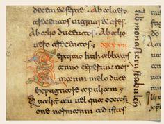 11.3 Beneventan script, ca. 1100.