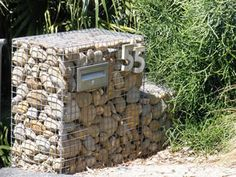 Landscape Gabion Wall Makes Common Property Absorbing