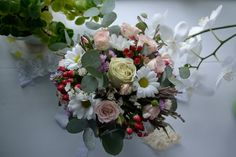 An example of the bride's bouquet