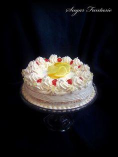 Sugar Fantasie -Torták és cukorvirágok: Oroszkrém torta... egy igazi klasszikus