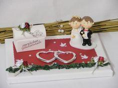 Geldgeschenke - Hochzeit...Geldgeschenk/Geschenke, Brautpaar - ein Designerstück von Festtags-Shop bei DaWanda