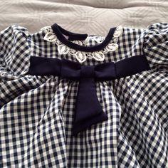 Vintage Caitlyn Scott Navy Dress Size 18mo https://www.etsy.com/shop/AmeliaBabble