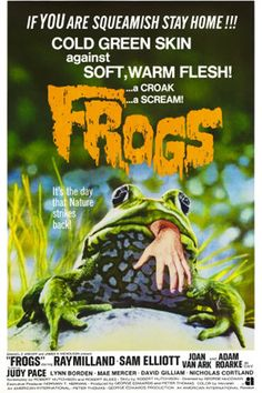 FROGS.......If You are Squeamish STAY HOME! COLD GREEN SKIN against SOFT, WARM FLESH!