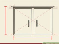 Image titled Build a Cabinet Step 1