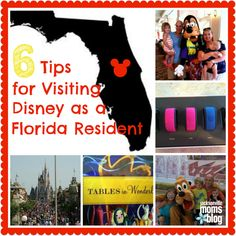 6 Tips  for Visiting Disney as a Florida Resident
