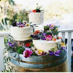 Loving the use of a wine barrel to display this trio of cakes (regram: @weddinghelperuk ) We have our very own wine barrels available for hire for you to be able to have your very own gorgeous cake stand! #desserttable #cake #caketable #wedding #weddingdecor #modernvintage #rustic #rusticwedding #rusticvintage #countrywedding #vintagecountry #vintage #vintagewedding #vintagestyle #vintagebride #eclecticvintage #style #romantic #love #goodfood #taste #delicious #flowers #decor #wine…