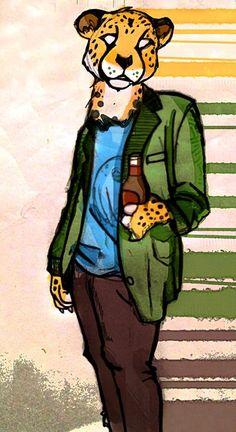 Cheetah fashion