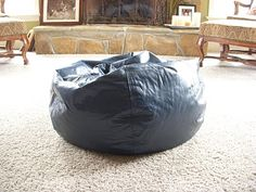 How to make a cover for a bean bag chair