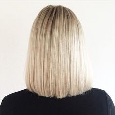 Классическая стрижка для средних волос
