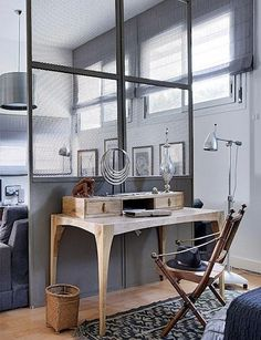 industrial wall idea bedroom?