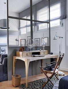 industrial wall idea bedroom?
