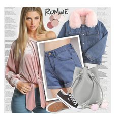 """Romwe 5\10"" by lana-baloley ❤ liked on Polyvore featuring LunatiCK Cosmetic Labs and StarOutfits"