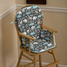 How To Make A High Chair Cover