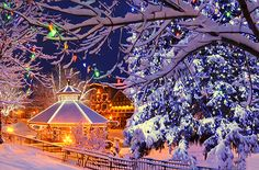 Quaint Christmas Getaways (preferably within 3 hrs from house)