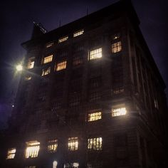 Nicholas Building night. #melbourne