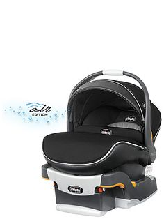 Chicco KeyFit 30 Zip Infant Car Seat - Obsidian - Chicco - Babies \