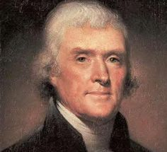 """""""The precepts of philosophy, and of the Hebrew code, laid hold of actions only. [Jesus] pushed his scrutinies into the heart of man, erected his tribunal in the region of his thoughts, and purified the waters at the fountain head."""" -Jefferson"""