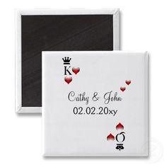 #savethedate #magnets #wedding #vegas #casino