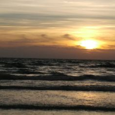 Is there anything better than the #sunset over the #ocean? #nofilter #florida #atlantic #celebrate #life