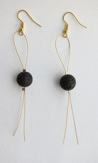 Category: Earrings Icelandic Lava Earrings Packing: 1 pair of earrings Style: Fashion Each pair wil