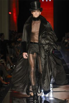 Men's Couture Fashion | Men's Fashion Fix: Jean Paul Gaultier Haute Couture FW12