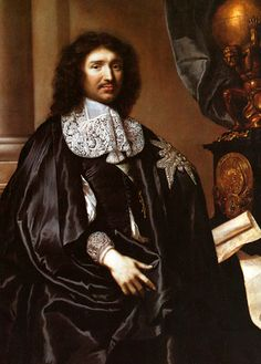 Jean-Baptiste Colbert 1619 –1683 served as the French Minister of Finance from 1665 to 1683 during the reign of King Louis XIV.