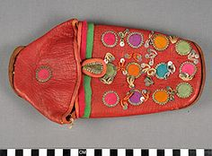 Pair of Shoes: Left, Morocco. Search the Collection, Spurlock Museum, U of I Body Adornment, Morocco, Sunglasses Case, Coin Purse, Footwear, Museum, Pairs, Wallet, Detail