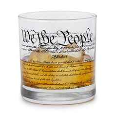 Look what I found at UncommonGoods: Constitution of United States of America Glass for $12.5 #uncommongoods