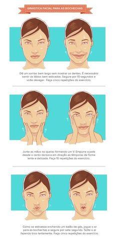 Ginástica Facial (Foto: Ego)