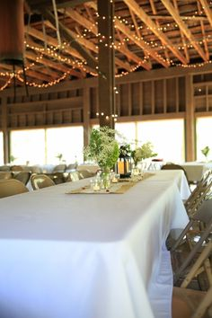 Weddings - Twinlow Camp and Retreat Center Rent A Tent, Cake Storage, Outdoor Picnic Tables, Exposed Ceilings, Lush Lawn, Rectangle Table, Indoor Wedding, Metal Chairs, Indoor Outdoor