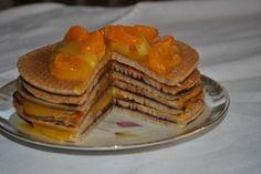 Buchweizenpfannkuchen-torte!Sowas von lecker!Als Frühstück aber auch zwischendurch ein echter Genuss!Buckweatpancakes #buckweat #glutenfrei #buchweizen #nutella #mandarine #pfannkuchen #pancakes http://www.sarahsbackblog.de/buchweizenpfannkuchen-torte/
