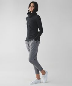 Staying cozy is a cinch in this pullover designed to keep chills out on your way to and from class.