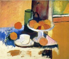 Henri Matisse, Still Life with Oranges II, 1899  The images are used for non-profit purposes.