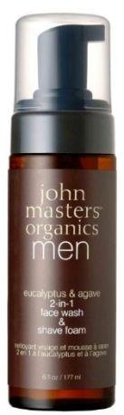 John Masters Organics Eucaliptus & Agave Face Wash & Shave Foam (beautyaholicshop.com)