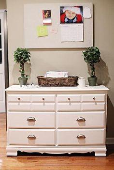 Thrifty DIY Dresser Makeover | DIYIdeaCenter.com