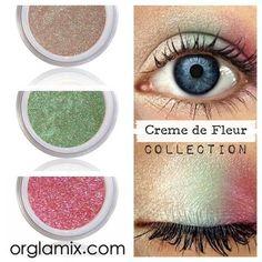 Creme de Fleur Collection - Organic Makeup | Vegan + Cruelty Free Cosmetics | ORGLAMIX