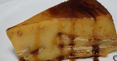 Dale un toque buenísimo al flan que se elabora con preparado instantáneo añadiendo, como hacen en el blog COCINANDO CON MONTSE, unas galletas María.