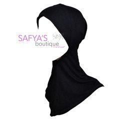 Sous hijab Cagoule - Qualité supèrieur - Trois coloris disponible via safya's boutique. Click on the image to see more!