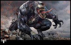 Venom WIP by uncannyknack.deviantart.com on @deviantART