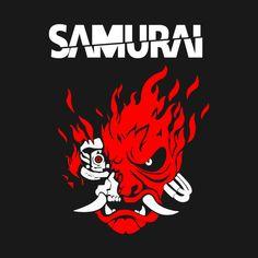 Cyberpunk 2077 - Samurai Demon Mini Art Print by ryanlinsley Cyberpunk 2077, Cyberpunk Games, Arte Cyberpunk, Cyberpunk Tattoo, Samurai Wallpaper, New Retro Wave, Cyberpunk Aesthetic, Samurai Tattoo, Shadowrun
