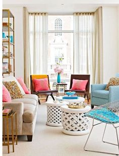 We like everything about this room, what about you? #DecoratingWithPastels