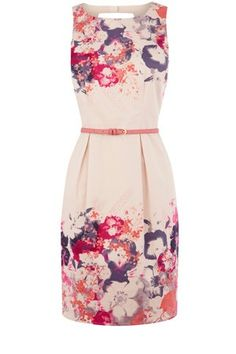 Lantern Blossom Print Dress