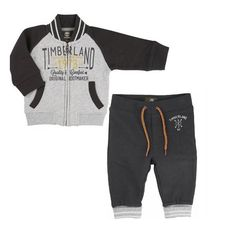 Timberland Baby Boys Grey Tracksuit | Timberland Boys Winter Collection | Kizzies