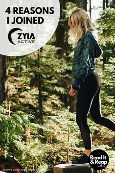 Why I chose to join the new activewear company, Zyia Active.