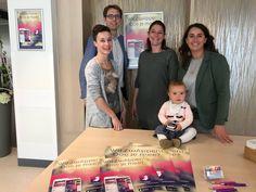 10 april 2017: De ZwApp is live! Als eerste ziekenhuis in Limburg heeft Zuyderland, samen met Geboortezorg Limburg en verloskundigen in de regio, een eigen app voor zwangeren ontwikkeld smile-emoticon:) De ZwApp staat vanaf nu in de App Store en Google Play. Alle informatie is gemaakt door professionals met het doel de zwangere en partner optimaal voor te bereiden op een bevalling. Op de foto vieren de makers de livegang van de app!