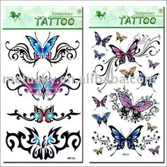 Tattoo Designs For You: Tattoo Gallery by Carla Stern Diy Christmas Crackers, Christmas Diy, Horlicks, Big Butterfly, Desenho Tattoo, Tattoos Gallery, S Tattoo, Temporary Tattoos, Tattoos For Women